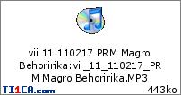 vii 11 110217 PRM Magro Behoririka